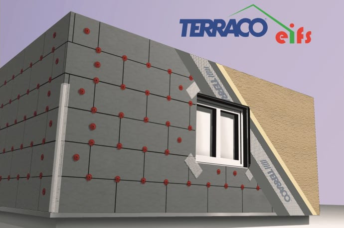 Wall Exterior Insulation Finish Systems Eifs Wall Construction
